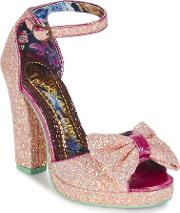 Irregular Choice , Flaming June Women's Court Shoes In Pink