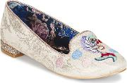 Irregular Choice , Kissy Fishy Women's Shoes (pumps  Ballerinas) In White