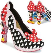 Irregular Choice , Minnie Mouse Women's Court Shoes In Black