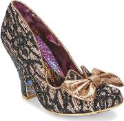 Irregular Choice , Nick Of Time Women's Court Shoes In Black