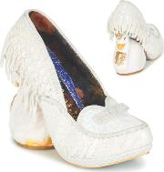 Irregular Choice , Odette Women's Court Shoes In White