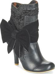 Irregular Choice , Rosie Lea Women's Low Ankle Boots In Black