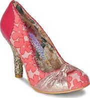 Irregular Choice , Smartie Pants Women's Court Shoes In Pink