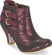 Irregular Choice , Think About It Women's High Boots In Red