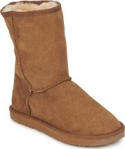 Just Sheepskin , Short Classic Women's Mid Boots In Brown