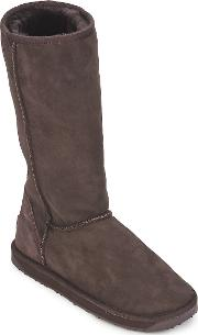 Just Sheepskin , Tall Classic Women's High Boots In Brown