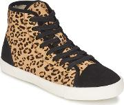 Kg By Kurt Geiger , Leap Women's Shoes (high-top Trainers) In Brown