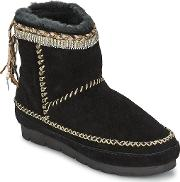 Laidback London , Nyali Plait Women's Low Ankle Boots In Black