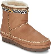 Laidback London , Nyali Women's Low Ankle Boots In Brown