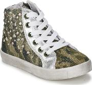 Lelli Kelly , Bs02 Girls's Shoes (high-top Trainers) In Green