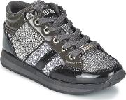 Lelli Kelly , Glitter Girls's Shoes (high-top Trainers) In Grey