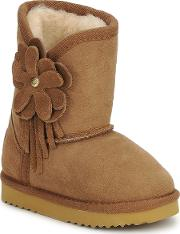 Love From Australia , Kids Cupid Flower Girls's Low Ankle Boots In Multicolour