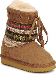 Love From Australia , Kids Navajo Girls's Low Ankle Boots In Multicolour