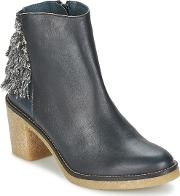 Miista , Brianna Women's Low Ankle Boots In Blue