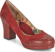Miss Lfire , Miss L'fire Addie Women's Court Shoes In Red