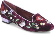 Miss Lfire , Miss L'fire Camilia Women's Loafers  Casual Shoes In Red