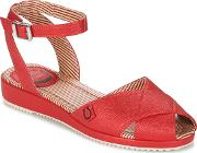 Miss Lfire , Miss L'fire Harlow Women's Sandals In Red