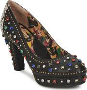 Miss Lfire , Miss L'fire Showgirl Women's Court Shoes In Black