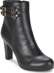 Moony Mood , Beate Women's Low Ankle Boots In Black