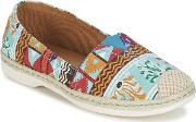 Moony Mood , Elasto Women's Espadrilles  Casual Shoes In Multicolour