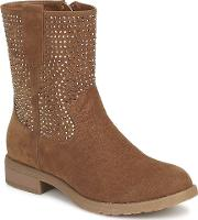 Moony Mood , Hovos Women's Mid Boots In Brown