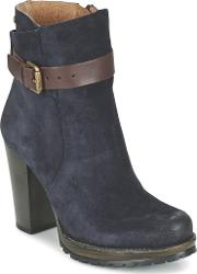 Mtng , Germina Women's Low Ankle Boots In Blue
