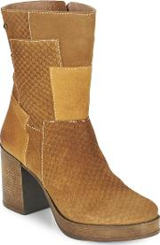 Mtng , Maggyla Women's Low Ankle Boots In Brown