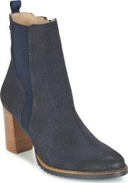 Mtng , Muestra Women's Low Ankle Boots In Blue