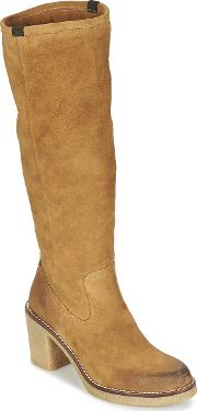 Mtng , Satanima Women's High Boots In Brown