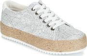 Mtng , Yano Women's Shoes (trainers) In Silver