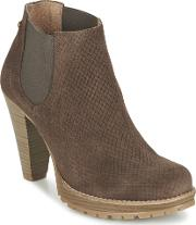 Mtng , Yarna Women's Low Ankle Boots In Brown