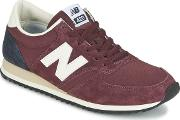 New Balance , U420 Women's Shoes (trainers) In Red