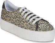 No Name , Plato Sneaker Women's Shoes (trainers) In Gold