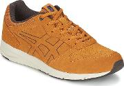 Onitsuka Tiger , Shaw Runner Men's Shoes (trainers) In Brown