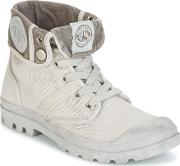 Palladium , Baggy Pallabrousse Women's Mid Boots In Grey