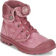 Palladium , Us Baggy Women's Mid Boots In Red