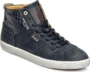 Pantofola Doro , Pantofola D'oro Montefino Mid Men's Shoes (high-top Trainers) In Black