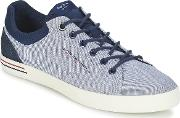 Pepe Jeans , North Fabric Men's Shoes (trainers) In Blue