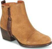 Pikolinos , Baqueira W9m Women's Low Ankle Boots In Brown