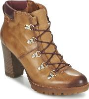 Pikolinos , Connelly W3e Women's Low Ankle Boots In Brown
