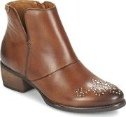 Pikolinos , Hamilton W2e Women's Low Ankle Boots In Brown