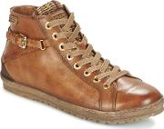 Pikolinos , Lagos 901 Women's Shoes (high-top Trainers) In Brown