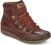 Pikolinos , Lisboa W67 Women's Shoes (high-top Trainers) In Brown