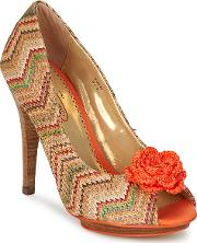 Poetic Licence , All Mixed Up Women's Court Shoes In Multicolour