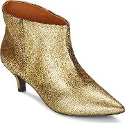 Ras , Espe Women's Low Boots In Gold