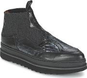 Ras , Gerald Black Women's Mid Boots In Black