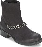 Redskins , Lepica Women's Mid Boots In Black