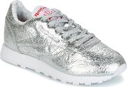 Reebok Classic , Cl Lthr Hd Women's Shoes (trainers) In Silver