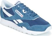 Reebok Classic , Cl Nylon Women's Shoes (trainers) In Blue