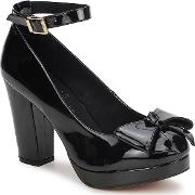 Shellys London , Bella Women's Court Shoes In Black